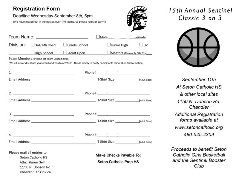 Nice 3 On 3 Basketball Tournament Registration Form Template Images ...