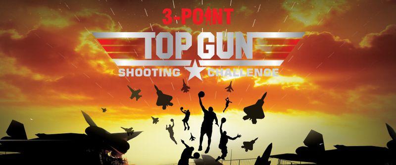 Top Gun Shooting Challenge 3-pointer