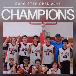 Euro Step Open - 2015 Champions!