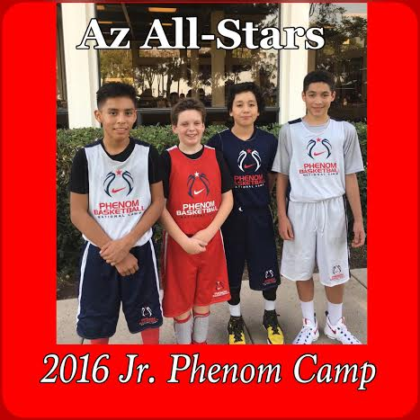 2016 Jr. Phenom _Az All-Stars