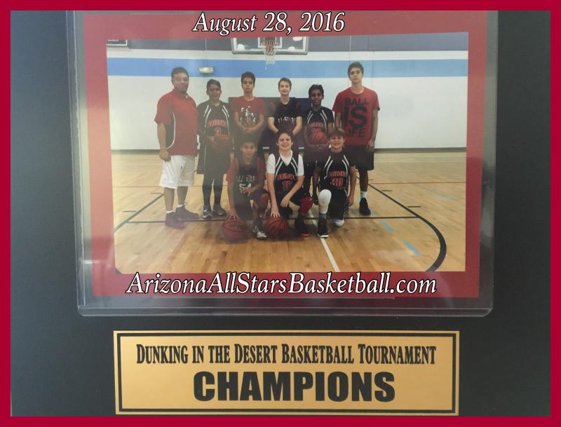 Dunkin in the Desert Champions 2016