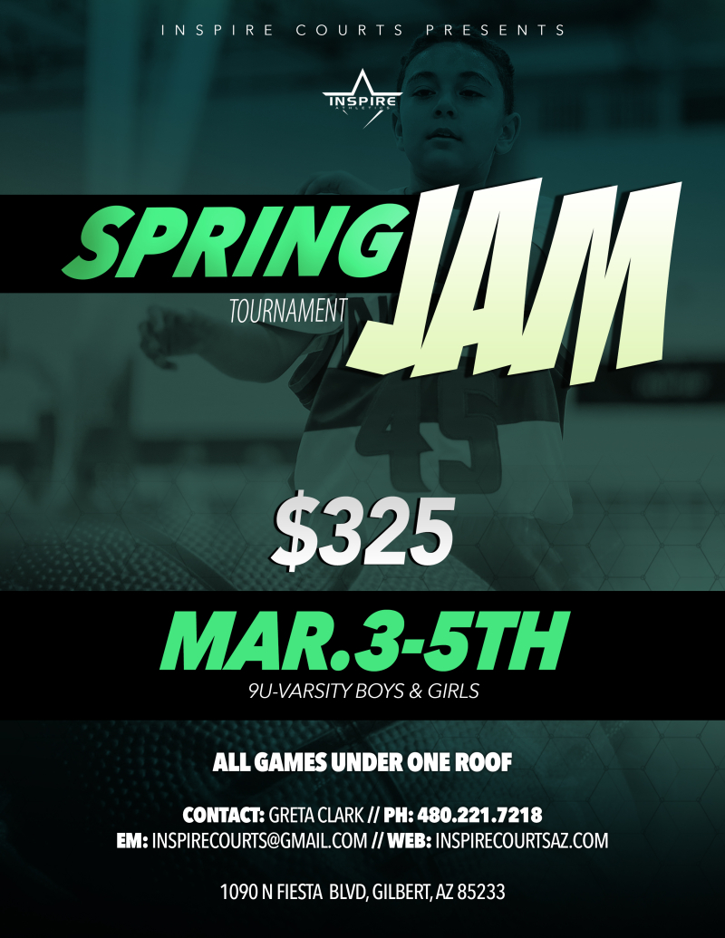 2017 Inspire Courts Spring Jam March 3