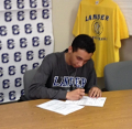 Marco Signs with Lander