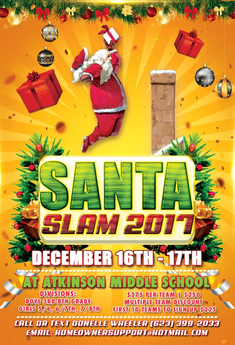 2017 Santa Slam Dec 16 17