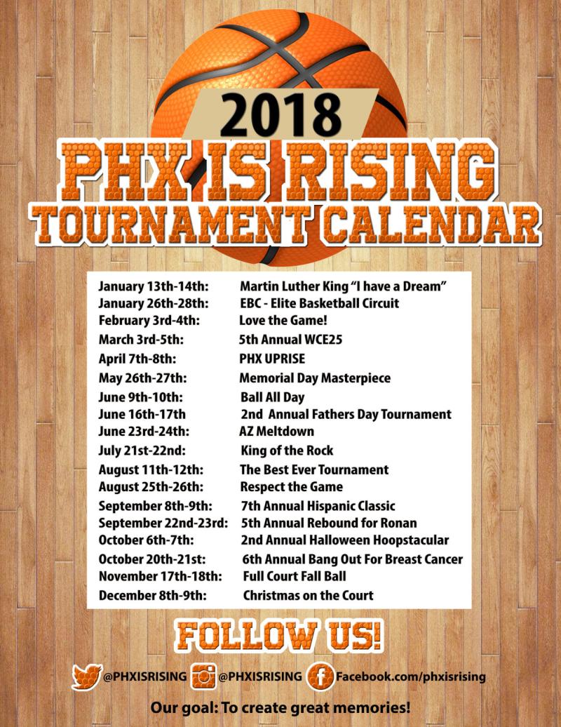 2018_Phx is Rising Calendar