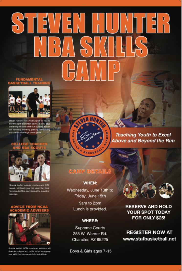 2018_JUNE_Steve Hunber NBA Skills Camp