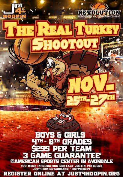 2016 Just4Hoopin Turkey Shoot
