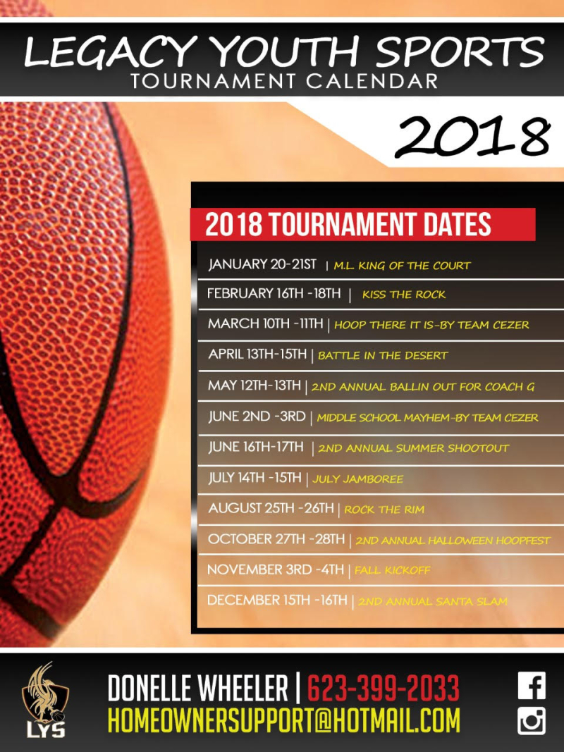 2018 JAN LYS Calendar Year
