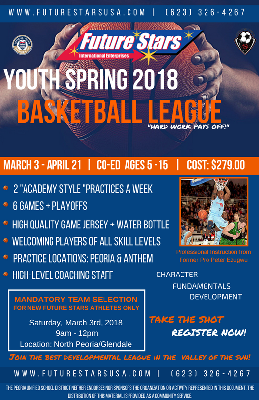 2018 MAR Future Stars Basketball League