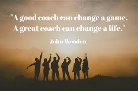 A good coach