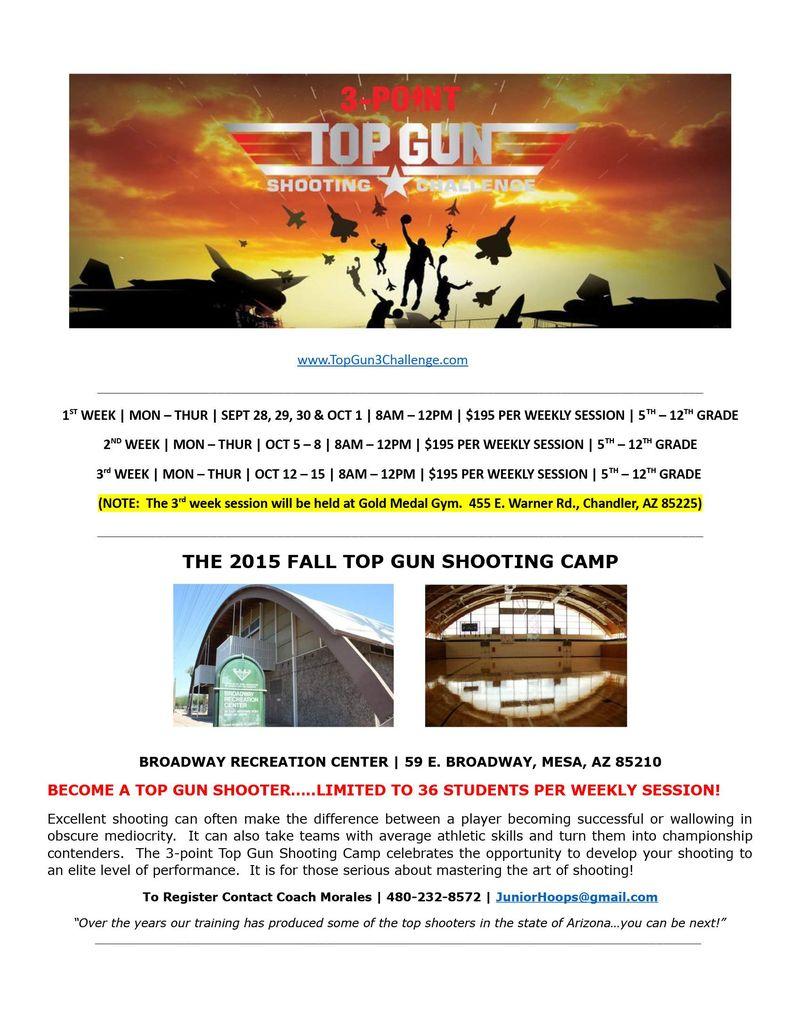 Top Gun Shooting Camp FALL 3 weeks 2015_0001