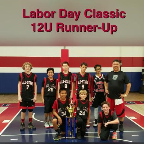 Labor Day Classic 12U Runner Up 2015