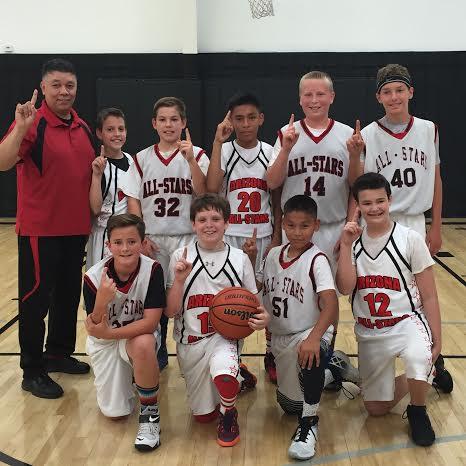 Arizona All-Stars Harding League Champions Team Photo