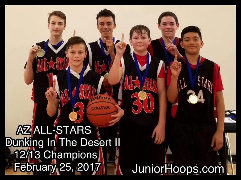 AllStars Dunking in Desert II Champions 2017