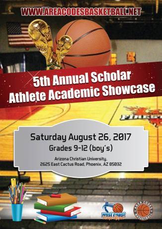 5th Annual Scholar Showcase August 26
