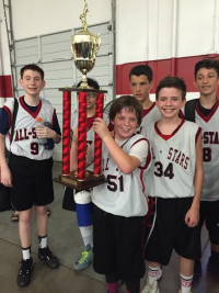 Euro Step Open - Noah and Others 2015 Champions