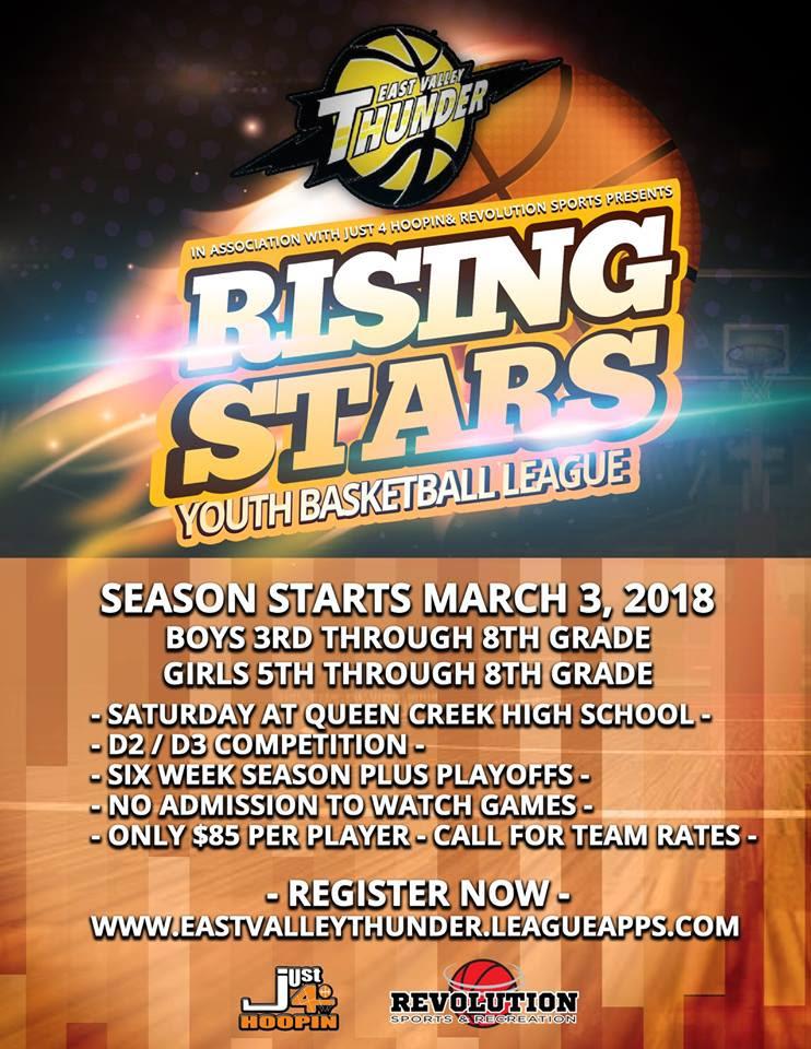 2018 MAR Rising Stars Youth Basketball League