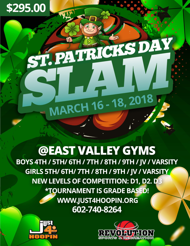 2018 MAR St. Patricks Day Slam
