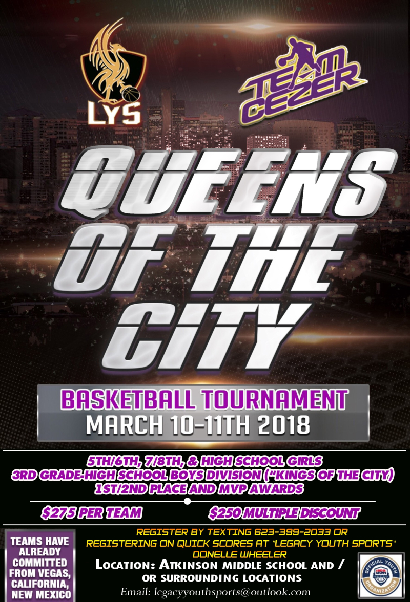 2018 MAR 10 Queens of the City