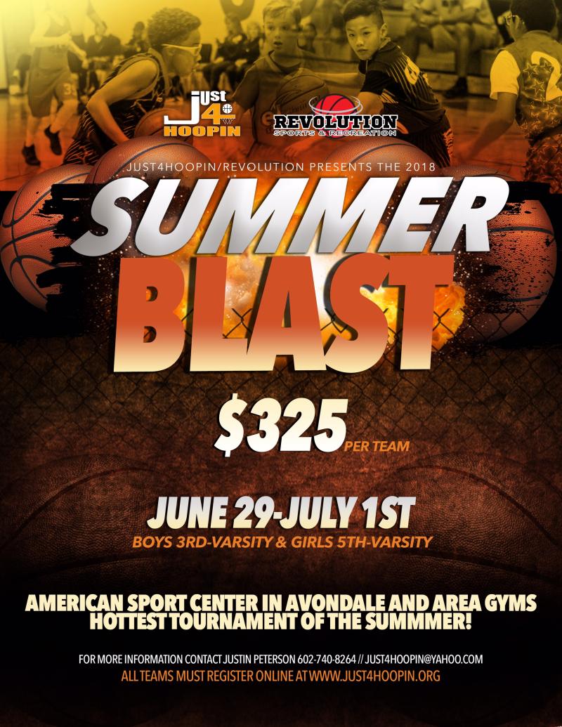 2018 JUNE Summer Blast