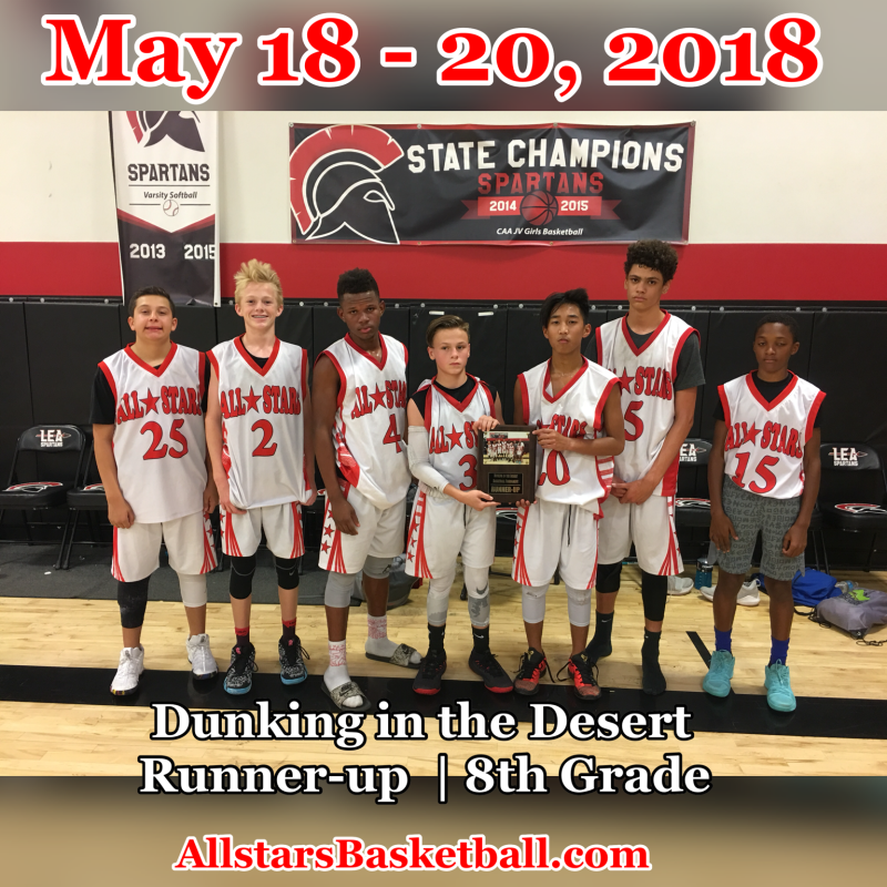 8th Grade Runnerup_May 18_2018_ Dunking in the Desert