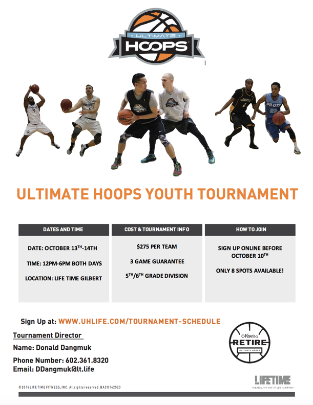 2018 OCTOBER Ultimate Hoops Youth