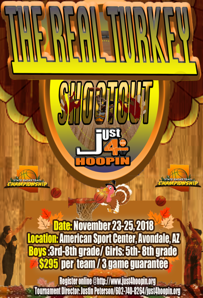2018 NOVEMBER Real Turkey Shootout