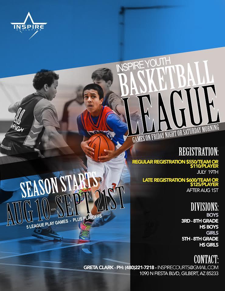 2018 AUGUST Inspire Courts League