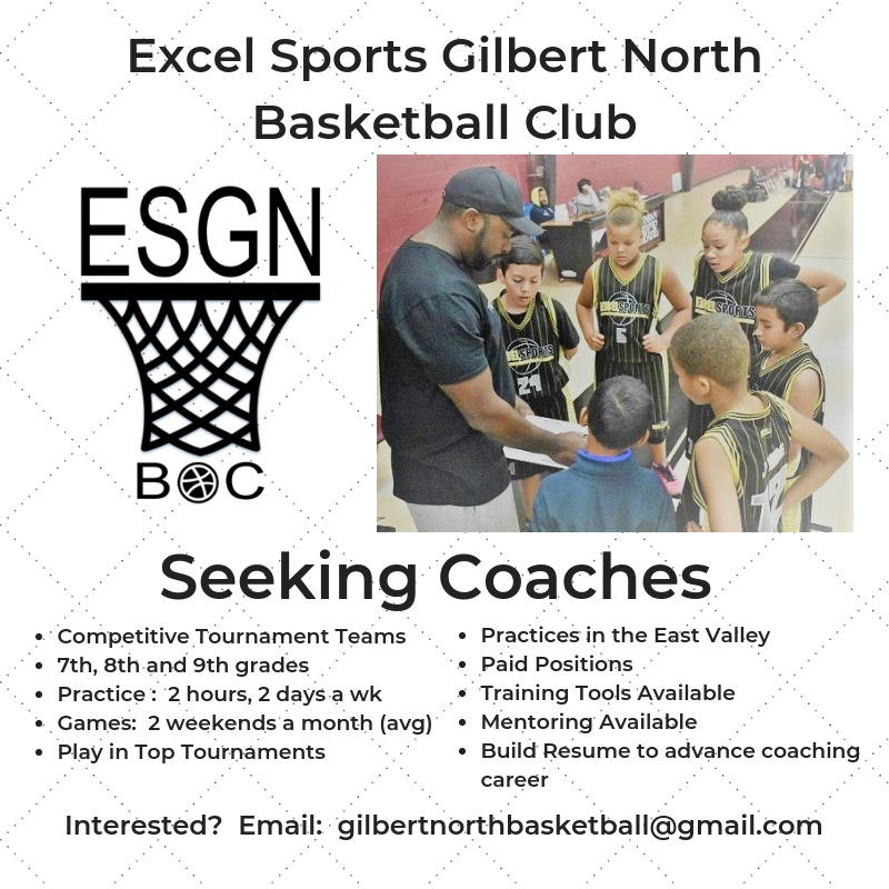 Excel Sports Gilbert NorthBasketball Club