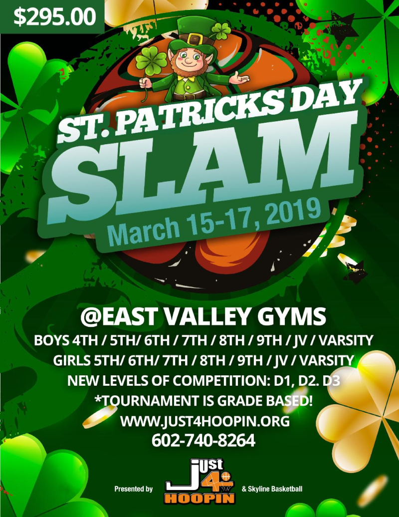 2019 MARCH _St. Patrick's Day Slam
