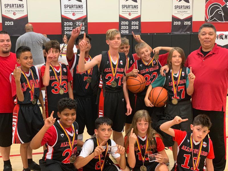 2019 SEPTEMBER Dunking in Desert 6th Grade Champions