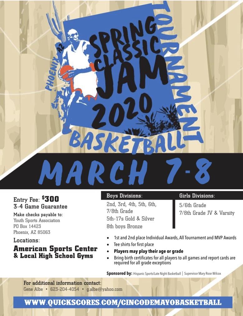 2020_MARCH 7_8_Gene Albe Spring Classic Jam