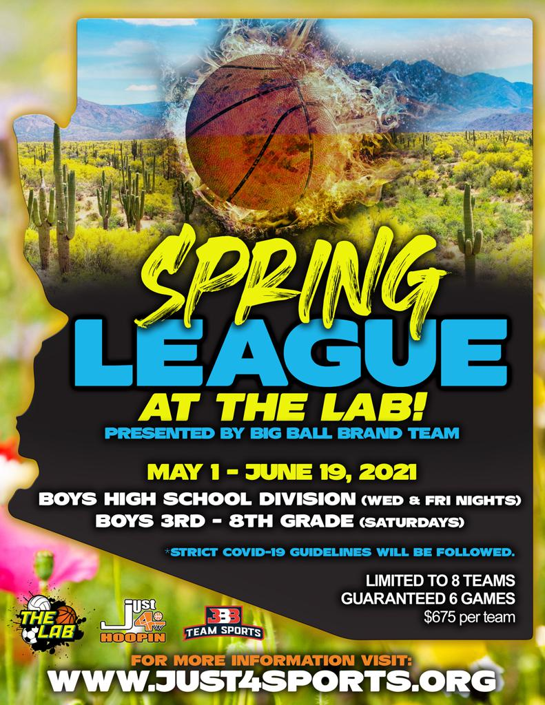2021 JUST4HOOPIN_Spring League